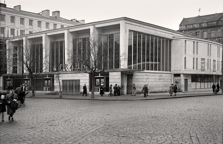 1951. Warszawa. Kino Praha.