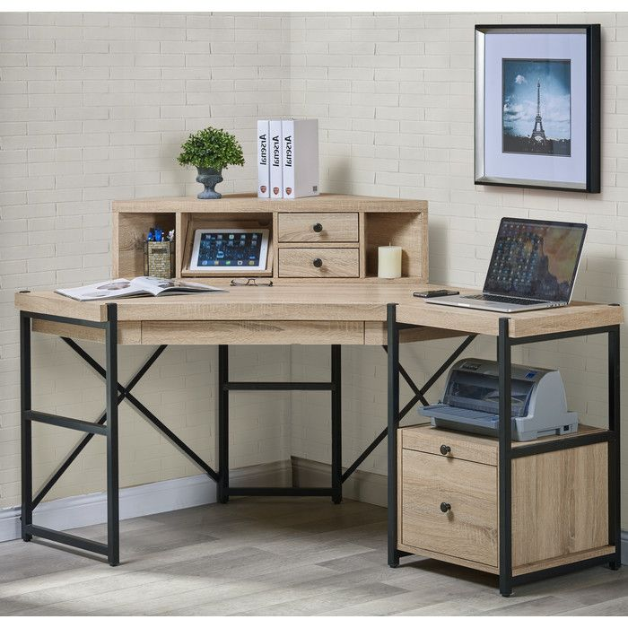 Turnkey LLC Hancock Corner Desk with Hutch & Reviews | Wayfair