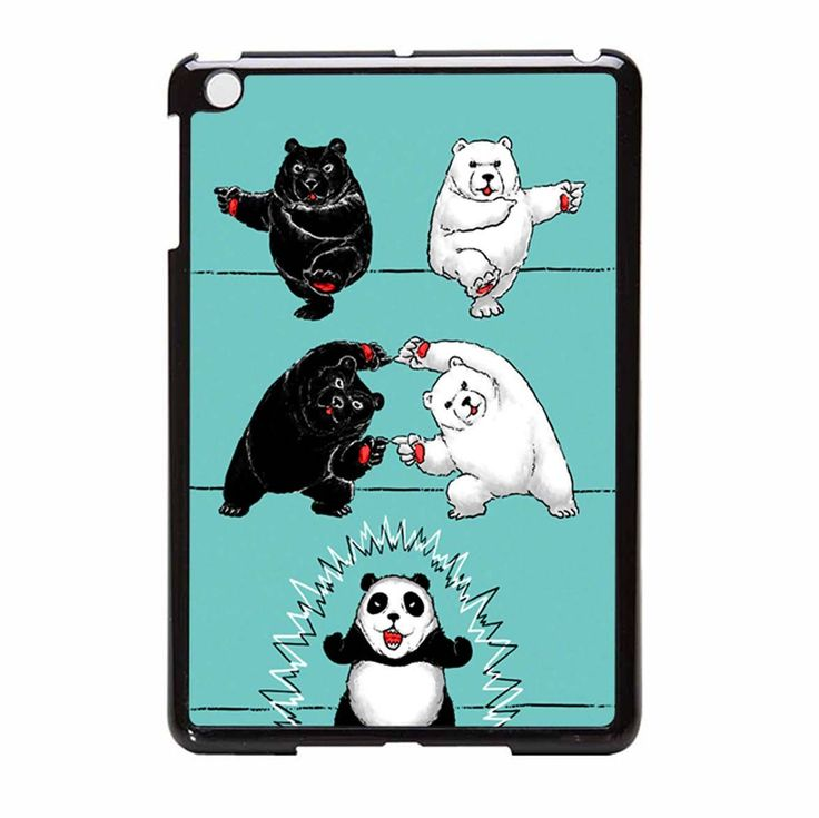 Ultimate Fusion iPad Mini Case Cute panda, Cute animals
