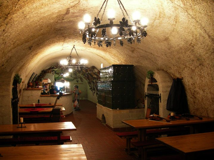 Wine tasting in caves in Eger, Hungary