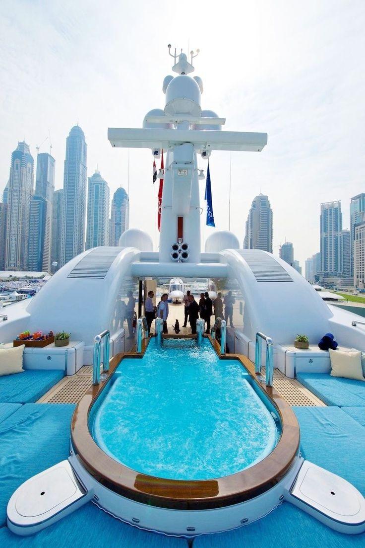 Millionaire Super Yacht ~ Luxury In Dubai