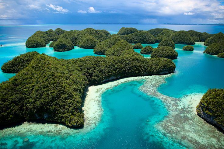 Seventies Islands - Palau, Micronesia