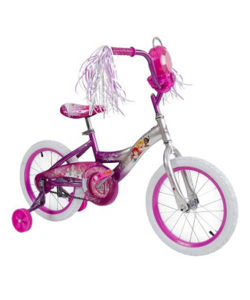 Let your princess explore the world around her with the Disney Princess bike.