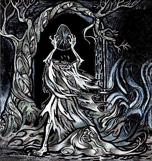 Album cover by Satu Laaninen