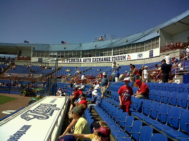Florida Auto Exchange Stadium, Dunedin/Tampa Bay, FL...Spring training home of the Toronto Blue Jays baseball team.
