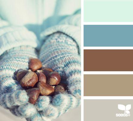 winter hues