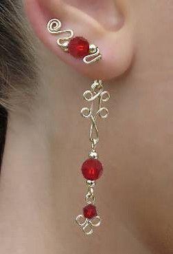 Super cute ear sweep #earring #earcuff