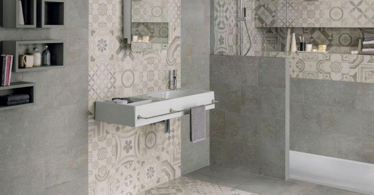 Bagno Con Cementine: Idee per un bagno nei toni del grigio ...