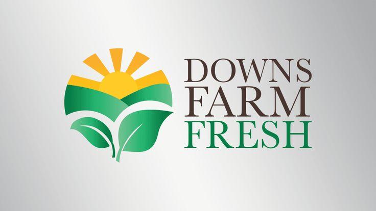 Logo design for Downs Farm Fresh, QLD