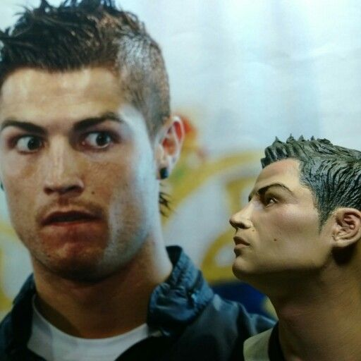 If only CR7 would get to see my masterpiece, that's the reaction he'd probably have!