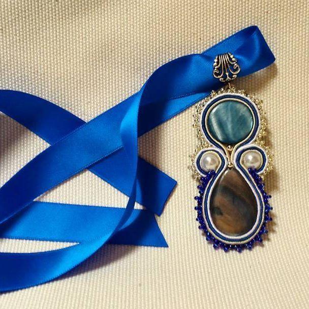 Blue royal..#varù #soutache #soutachemania #creazioniartigianali #handmade #madeinitaly