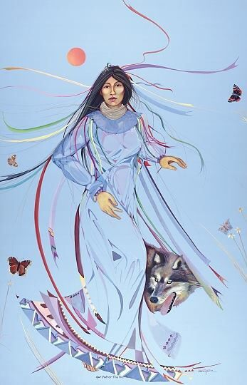 """""""Our Mother Earth"""" Artist-Dana Tiger"""