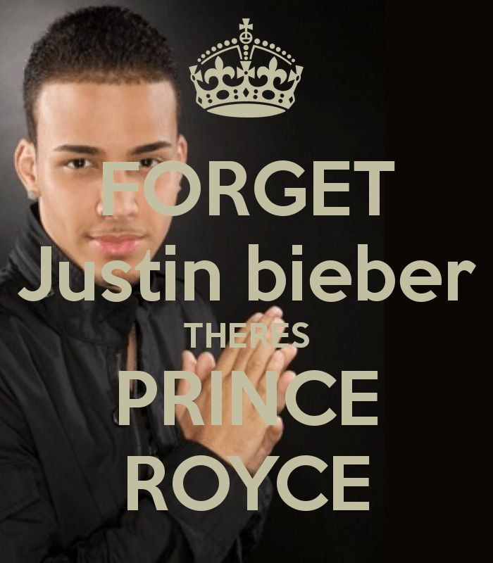 FORGET Justin bieber THERES PRINCE ROYCE - KEEP CALM AND CARRY ON ... Yea Prince royce is better