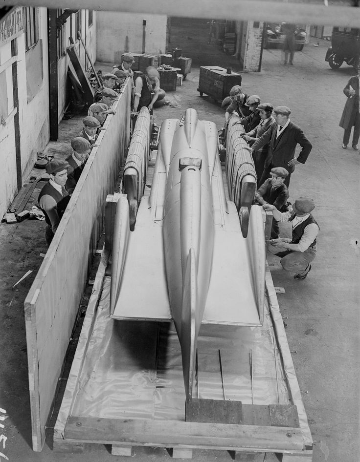 The 1929 car that shattered speed records despite its corny name
