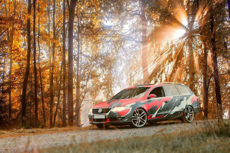 Camo VW Passat Variant by TTStudio.ru
