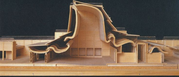 Architectural Drawings, Models, Photos, etc... — Bank Melli, Tehran, Iran, 1959 Jørn Utzon via