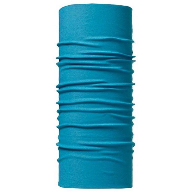 Buff Original Solid Blue Caribbean aqua Headwear Headgear Neck gaitor 100656 #Buff