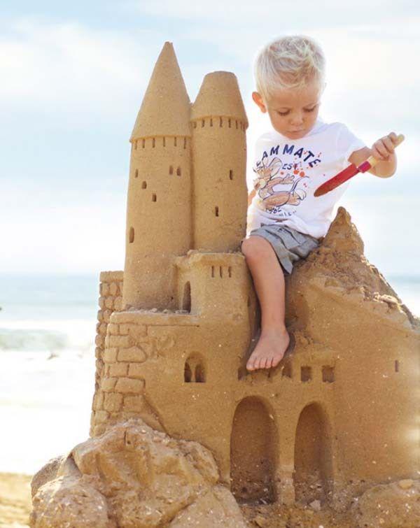 Castel de nisip - poveste inspirationala