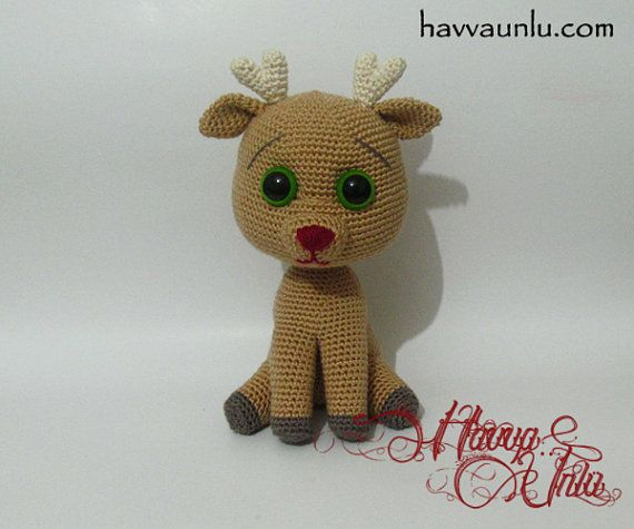 Amigurumi Deer : PATTERN - Deer (Amigurumi Crochet) on Etsy, USD6.50 ...