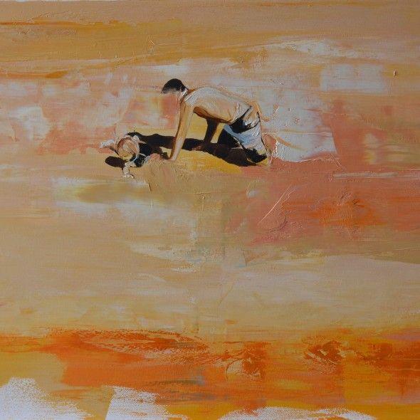 Dad by Joanna Burda Oil on canvas