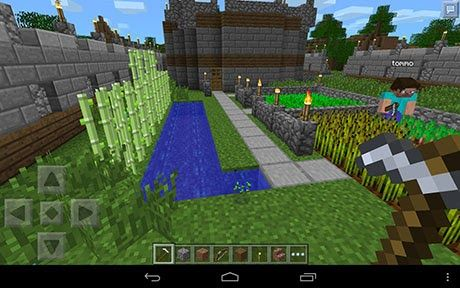 Online Minecraft Pocket Edition is an Arcade game   this