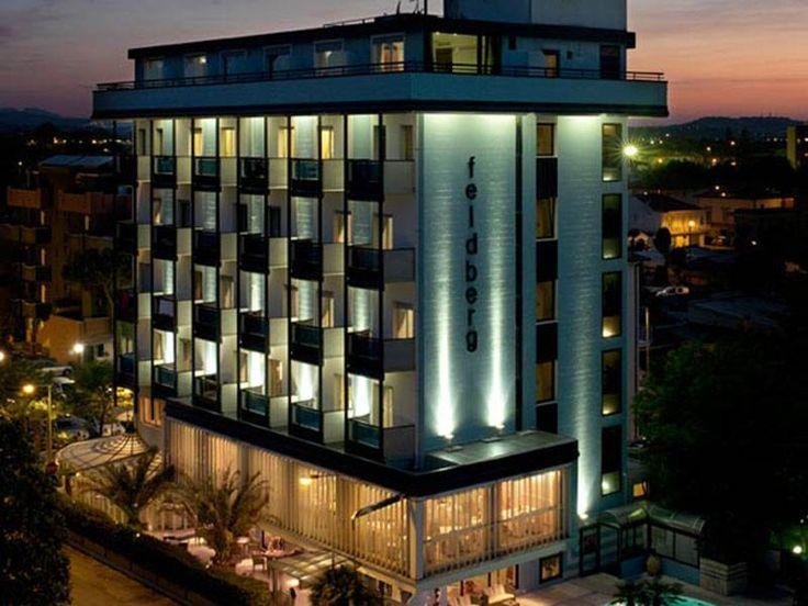 Info utili, servizi e caratteristiche dell'hotel Feldberg 4 stelle di Riccione di viale Fucini