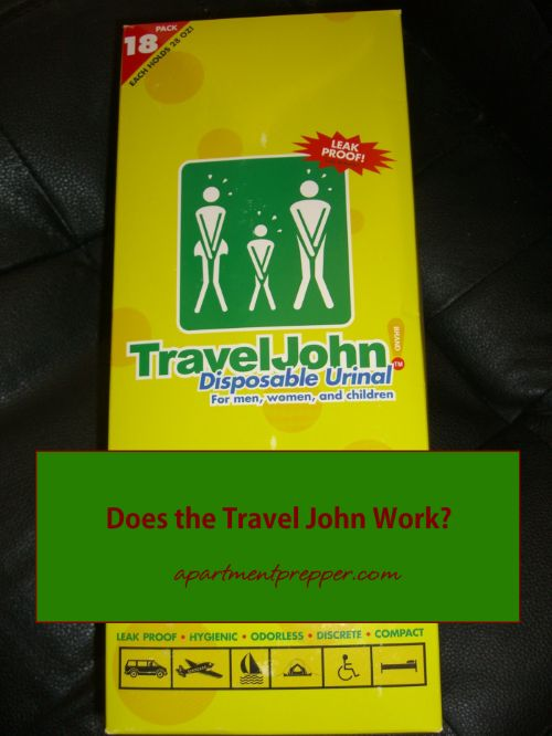 Does the Travel John Work?