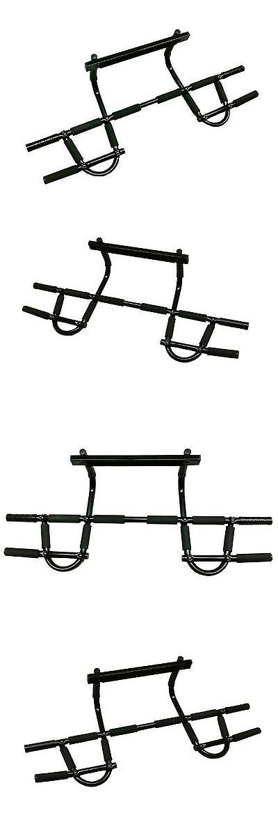 Pull Up Bars 179816: Wacces New Heavy Duty Doorway Chin Up Push Up Pull Up Bar For P90x -> BUY IT NOW ONLY: $30.19 on eBay!