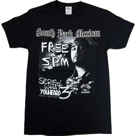 South Park Mexican Free SPM T-Shirt  Unisex S  2XL