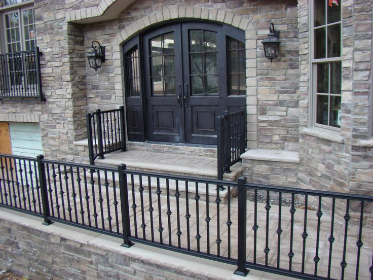 Great Custom Exterior Railing Systems By F Amp C Professional