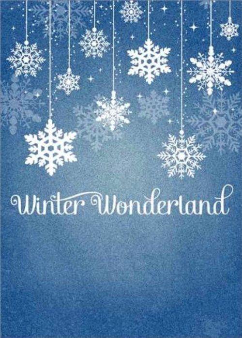 winter wonderland invites