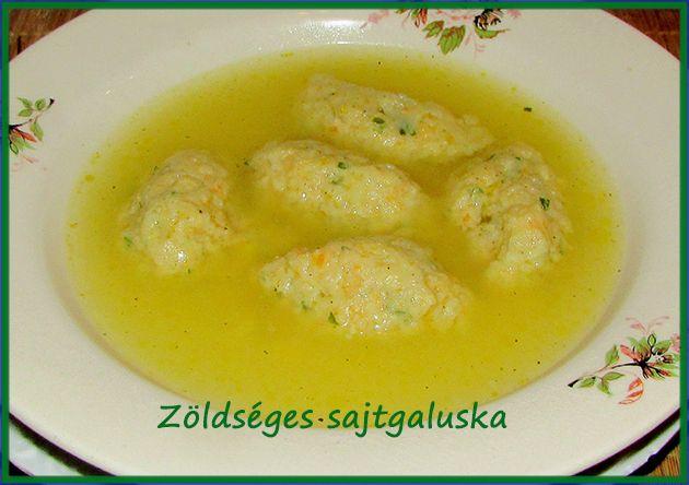 Zöldséges sajtgaluska (levesbetét) - Aliz konyhája - minden recepthez fázisfotók