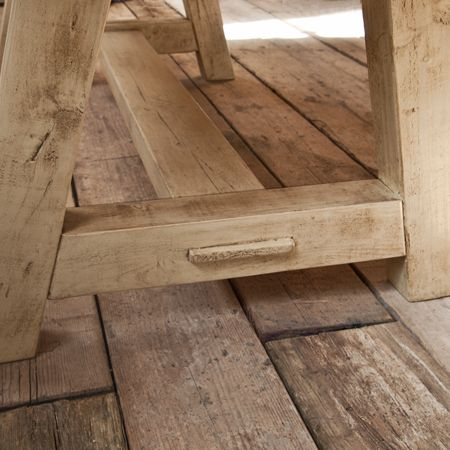 Reclaimed Scaffold Board Dining Table - House Junkie
