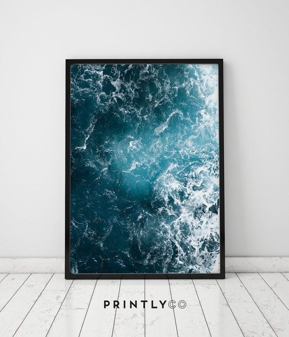 Ocean Swell by PrintlyCo.