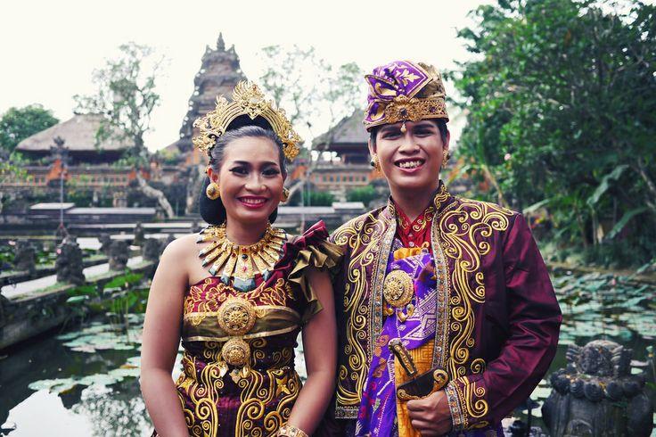 Balinese wedding photos in Ubud
