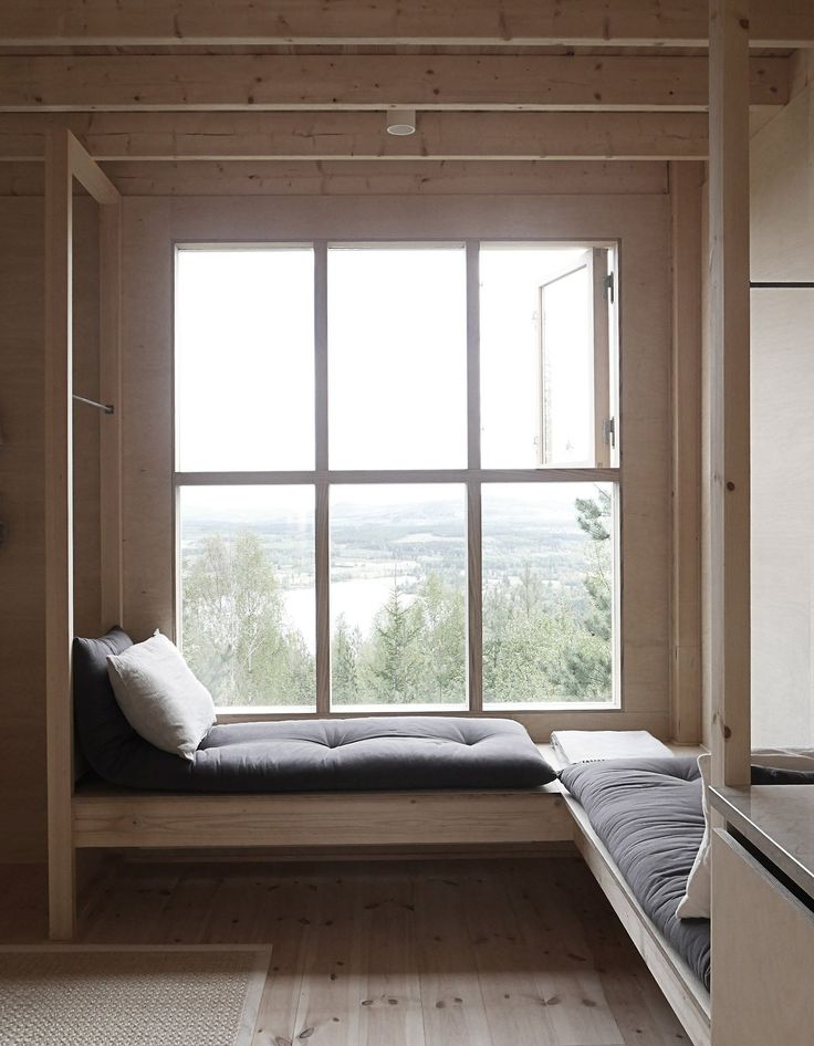 Lofthuset | Tham & Videgard Arkitekter Swedish architect Hanna Michelson has completed a stilted timber cabin overlooking the Åsberget mountains, as the first of four getaways being built for the...