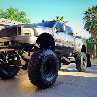 2002 Ford F350 Custom Lifted Monster Truck For Sale