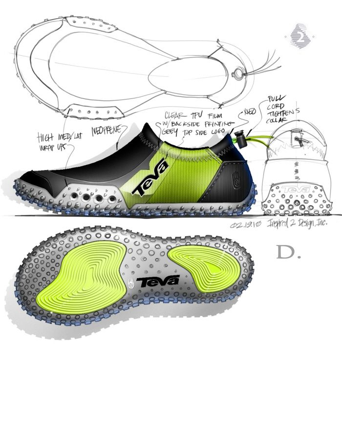 Teva aqua sock by Larry Selbiger at Coroflot.com