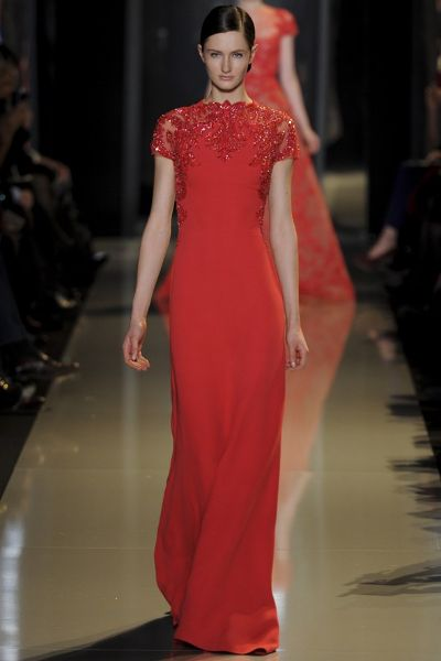 Colectia Couture primavara 2013 Elie Saab