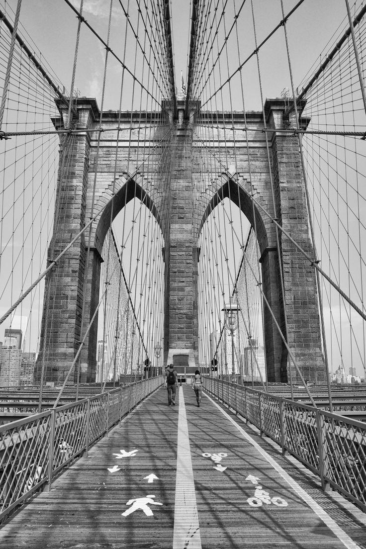 The Brooklyn Bridge, New York USA Copyright Nicole Wallace 2015