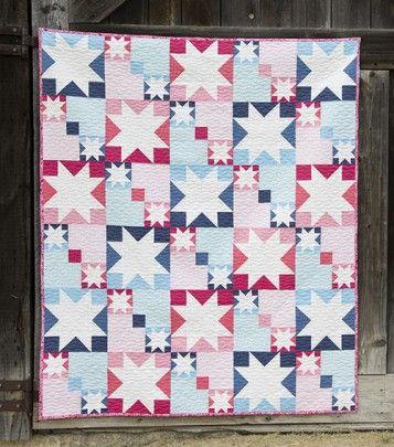 Summer sparkle quilt along with faith jones