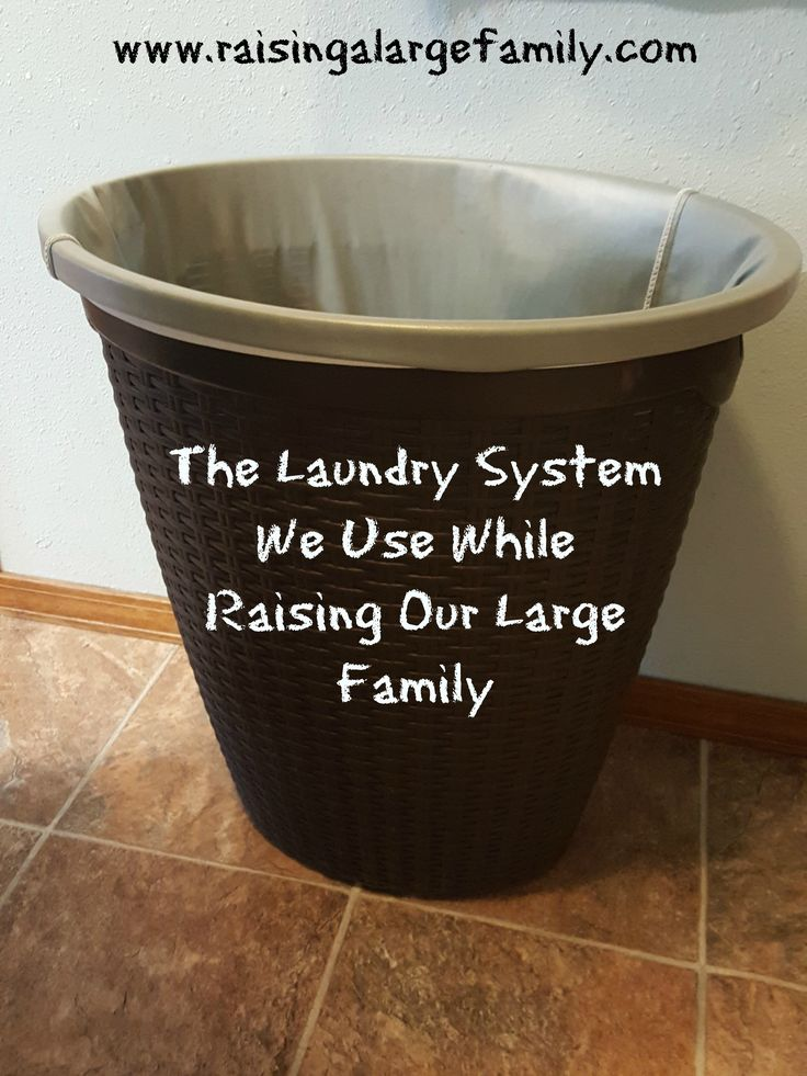 12 best diy modesty images on pinterest craft sew and for Large family laundry
