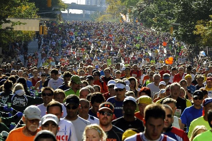 Le marathon de New York 2011