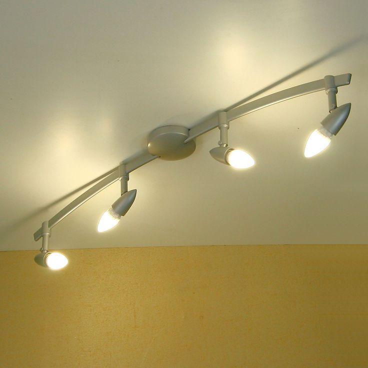 lampadario led : un lampadario moderno illuminato con lampade led a candela