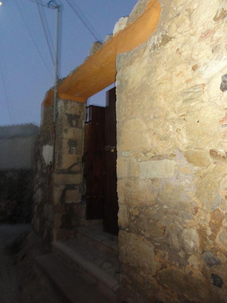 entrance of traditional villa