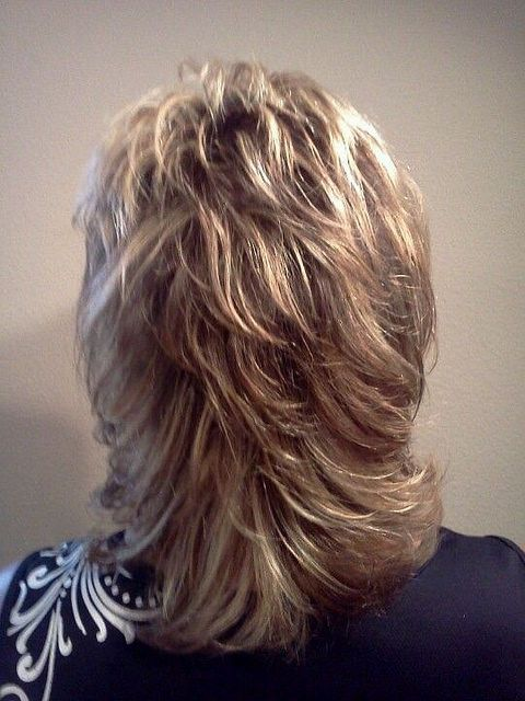 Shag from behind  Nice short layers through the top  HarterCanyon  Flickr  Hair cuts in