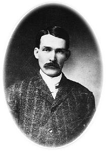 Warren Baxter Earp (March 9, 1855 – July 6, 1900) was the youngest brother of Wyatt, Morgan, Virgil, James, and Newton Earp. Although he was not present during the Gunfight at the O.K. Corral, after Virgil was maimed in an ambush, Warren joined Wyatt and was in town when Morgan was assassinated. He also helped Wyatt in the hunt for the outlaws they believed responsible. Later in life, Warren developed a reputation as a bully and was killed in an argument in 1900.