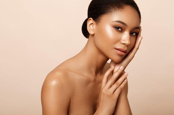 © Kriss Logan, photo beauté, modèle métisse, make up naturel doré, summer, maquillage d'été, beauty.