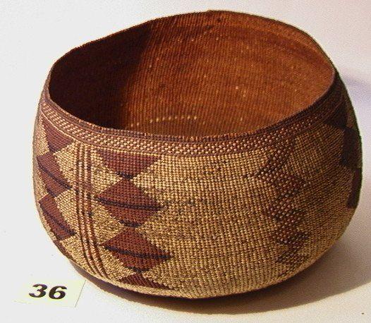 California HUPA Basket Native American Indian