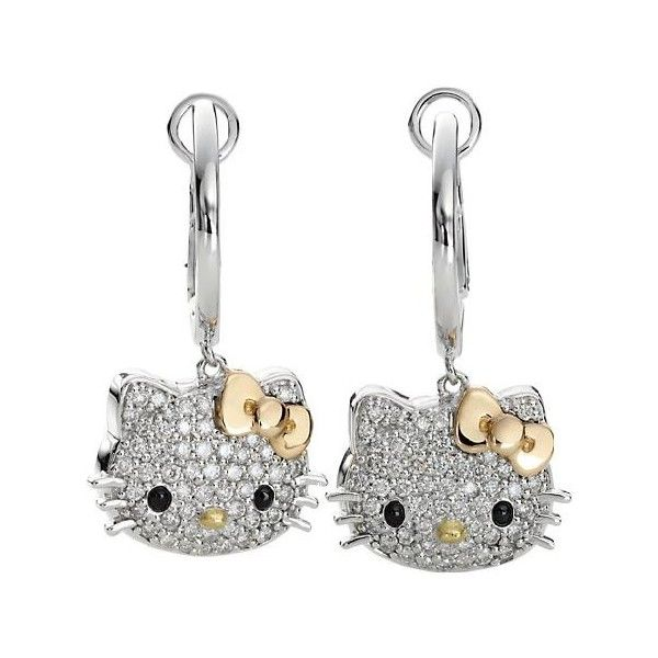 Hello Kitty Diamond Jewelry. Don't know if I would wear them, but I would like to have them